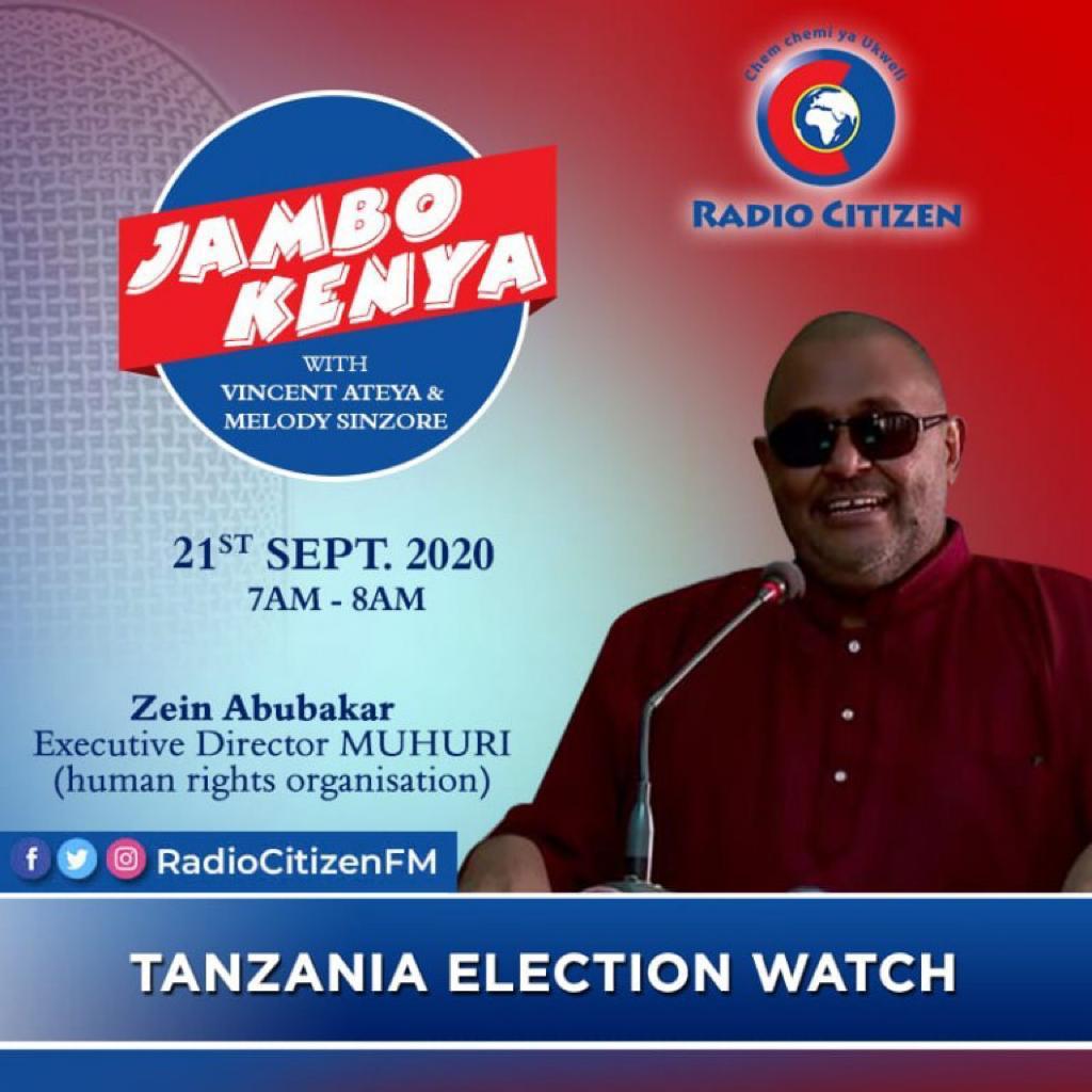 Zein Abubakar interview at Citizen Radio